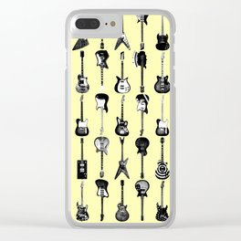 The Electric Guitar Ensemble Clear iPhone Case