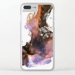 Drops of Nebula IV Clear iPhone Case