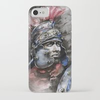gladiator iPhone & iPod Cases featuring Gladiator by Tania Richard