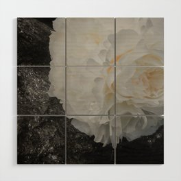 Crystal Peony by Teresa Thompson Wood Wall Art