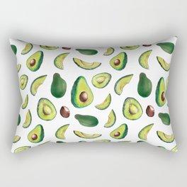 Avocado Pattern Rectangular Pillow
