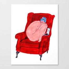 Naked Lady Canvas Print