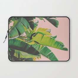 Banana Leaves III (Pink) Laptop Sleeve