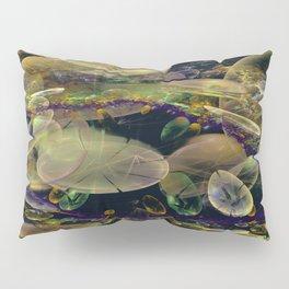 Lily Pond on Mars Pillow Sham