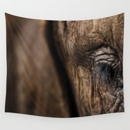 Wise Eyes Wall Tapestry
