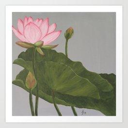 Beauty Of The Pond Art Print