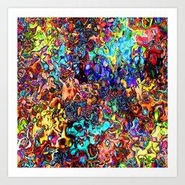 PATTERN-425 Art Print