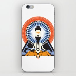 Indian Saint iPhone Skin