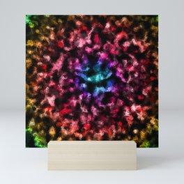 Radial Disco Foil Mini Art Print