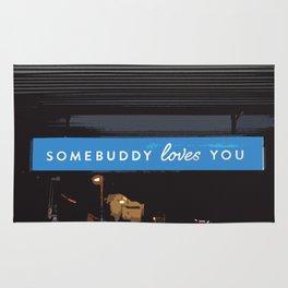 Somebuddy Loves You Rug