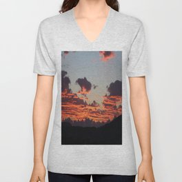 Aegean Sunset Unisex V-Neck