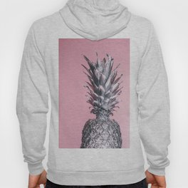 Pink And Silver Pineapple Hoody
