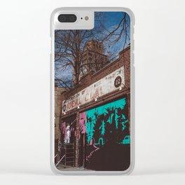 New York Street Artist Clear iPhone Case