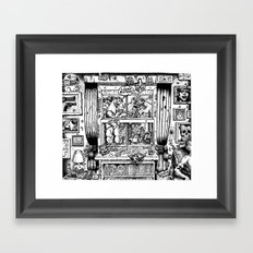 Lucky Bastards Framed Art Print