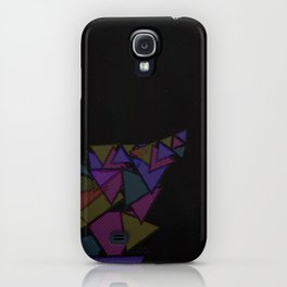 There Will Be Triangles iPhone Case