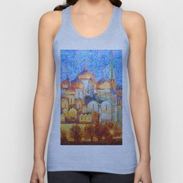 The Cathedrals of the Moscow Kremlin Unisex Tank Top