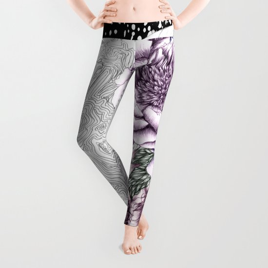 Moon Abloom II Leggings