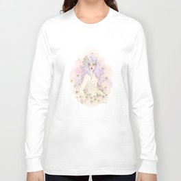 daisy puff Long Sleeve T-shirt