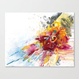 MINGA x Delivery of a Gift Canvas Print