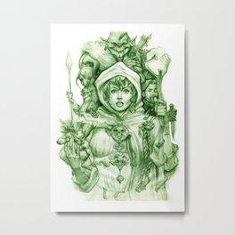 Belladonna Metal Print
