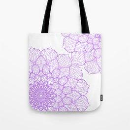 Purple Mandala design, Mandala gift, Simple design Tote Bag
