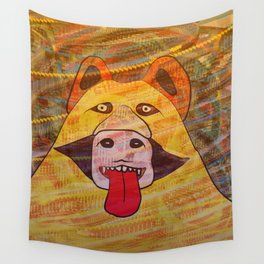 Smelling You Wall Tapestry