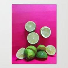 Cherry Limeade Canvas Print
