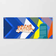 Beantown Graffiti Canvas Print