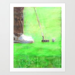 The Masters Tournament - Masters Golf - Golfer - Augusta National Golf Art Print
