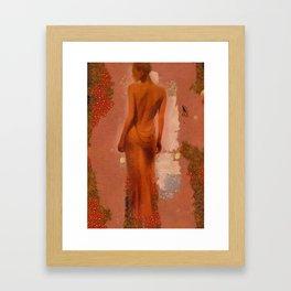 one view  Framed Art Print