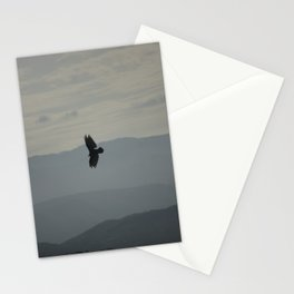 Flying in the sky Stationery Cards