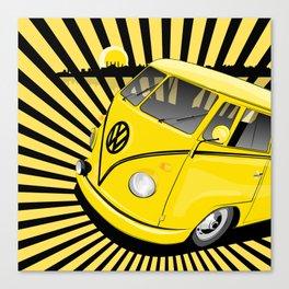 bang bus Canvas Print
