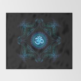 shanti om Throw Blanket