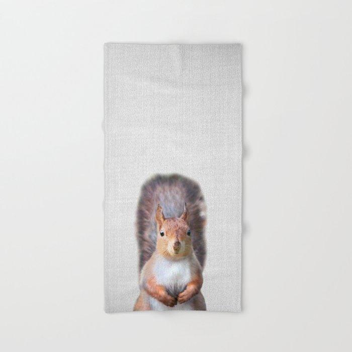 Squirrel - Colorful Hand & Bath Towel