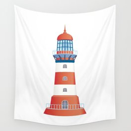 nautical lighthouse Wall Tapestry