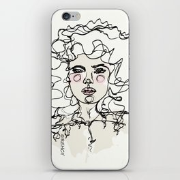 Natural Curls iPhone Skin