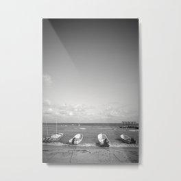 Darkened Metal Print