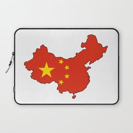Chines Map Flag Laptop Sleeve