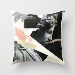 Untitled (Painted Composition 3) Throw Pillow