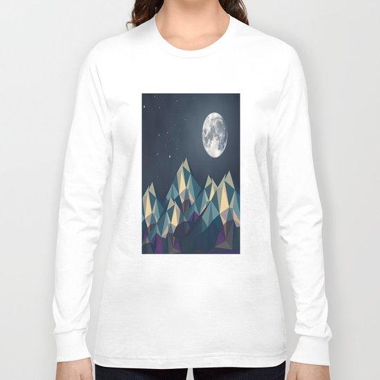 Night Mountains No. 1 Long Sleeve T-shirt