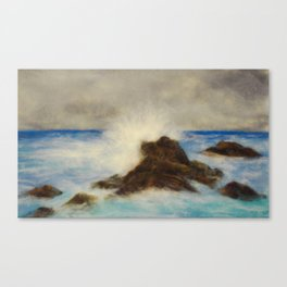 Waves Crashing in My Dreams Canvas Print