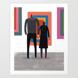The Opening Art Print