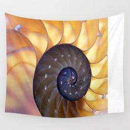 Macro Seashell Wall Tapestry