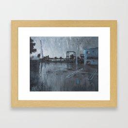 Dana Point Ship Yard Framed Art Print