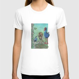 The legend of the Kiwi, illustration, Maori tale, New Zealand T-shirt