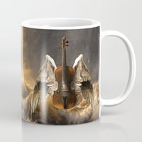 celestial Mugs featuring Celestial Music by Diogo Verissimo