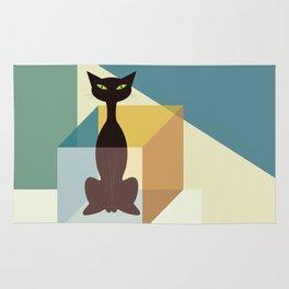 Schrodinger's cat Rug