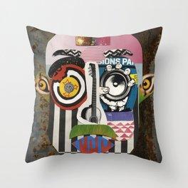 Tel-Aviv/Berlin Throw Pillow
