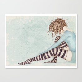 Sock Dreams Canvas Print