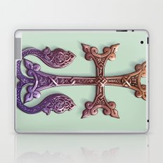 Celtic Cross II Laptop & iPad Skin